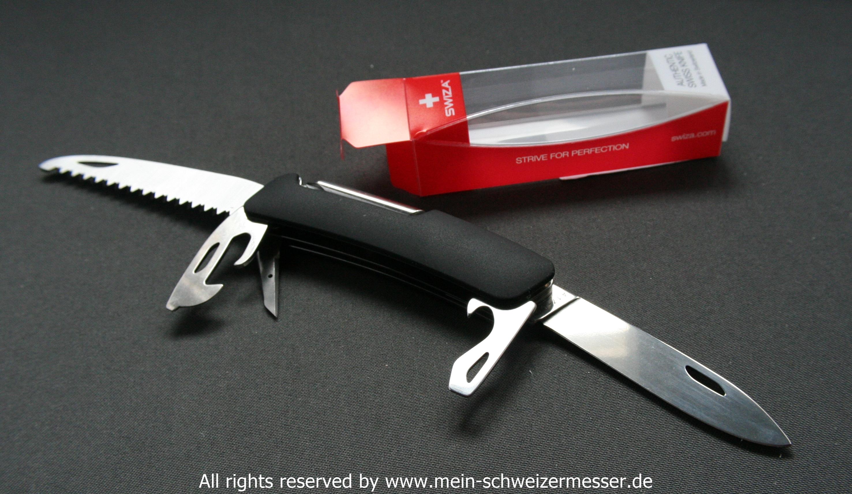 Mein Schweizermesser Swiss Army Knife Swiza Model D06