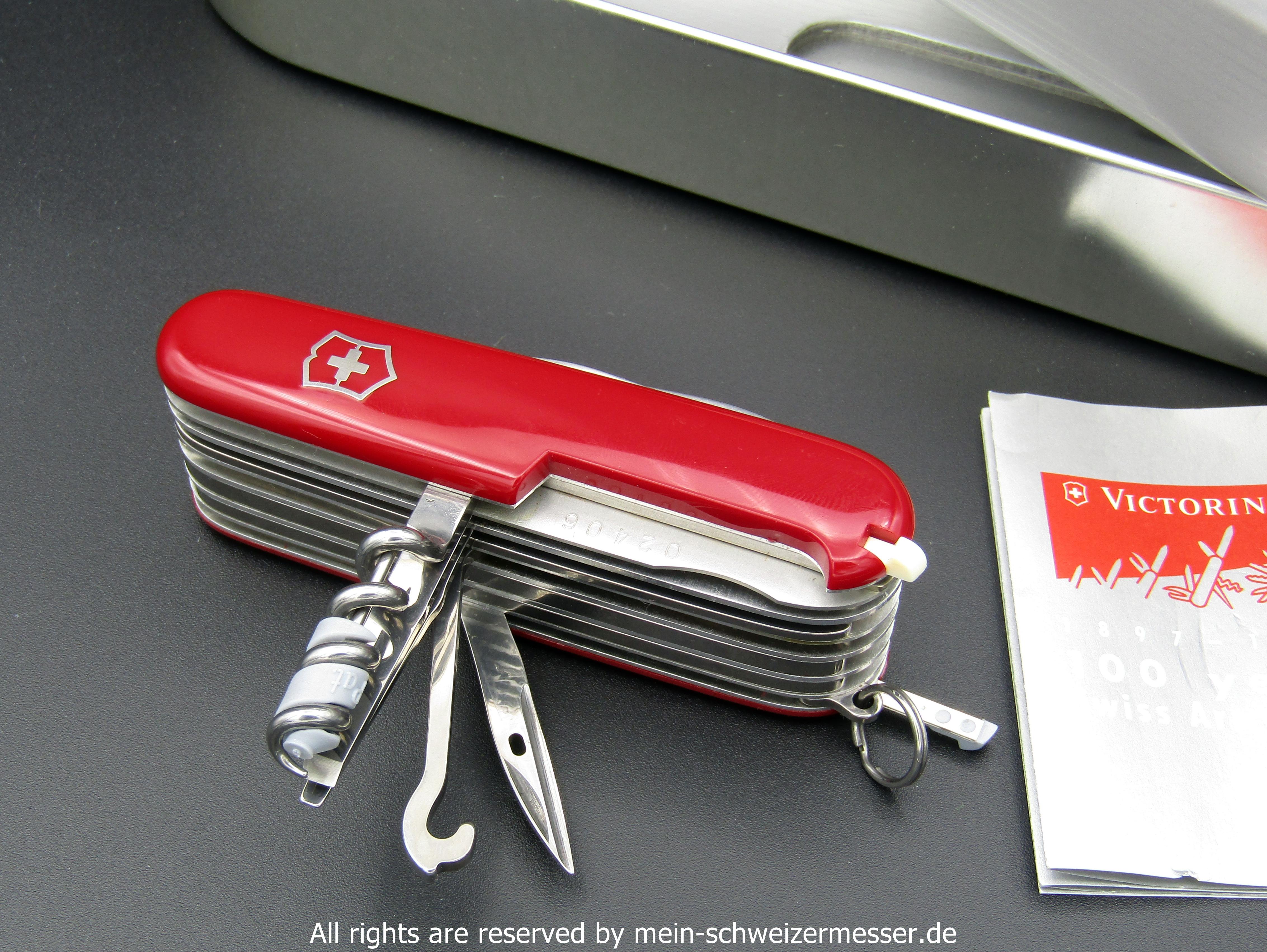 Mein Schweizermesser Victorinox Sammlermesser Swisschamp