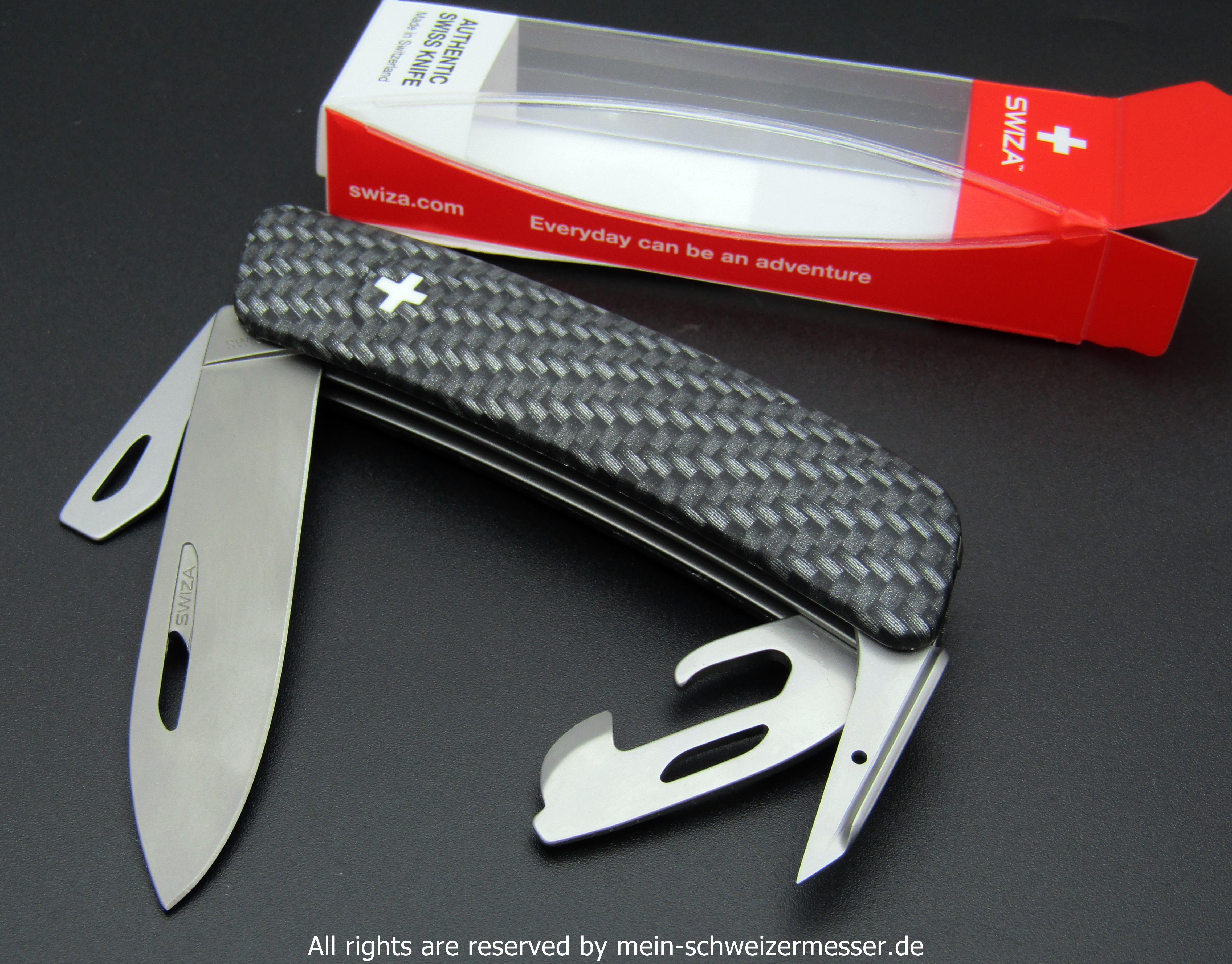 Mein Schweizermesser Swiss Army Knife Swiza D03 In