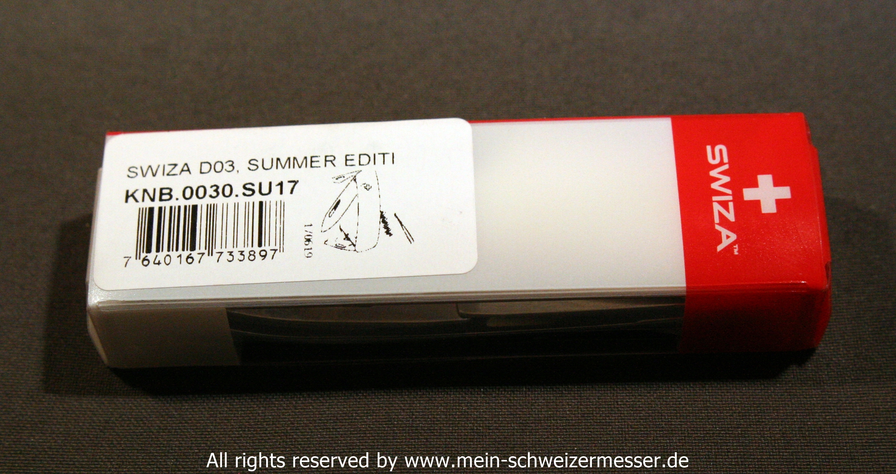 Mein Schweizermesser Swiss Army Knife Swiza D03