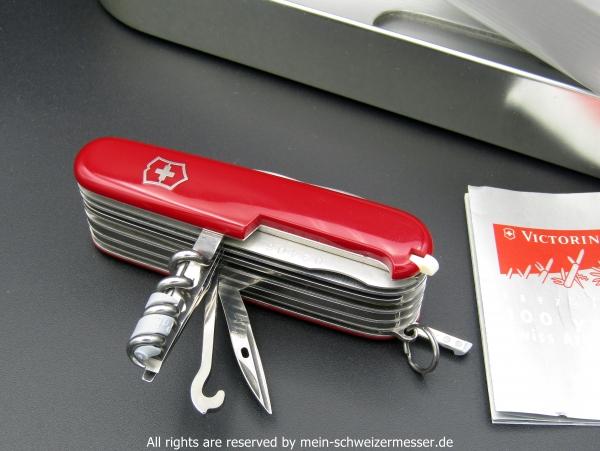 Mein Schweizermesser Victorinox Swisschamp Limited